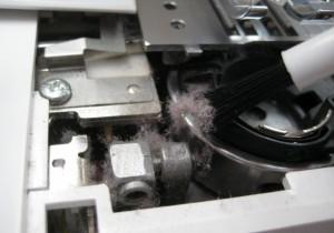 fleece sewing machine