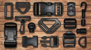 black plastic hardware