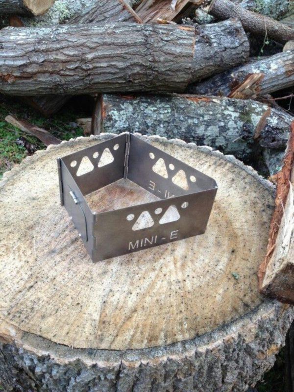 Mini-E Titanium Wood Burning Stove-3592