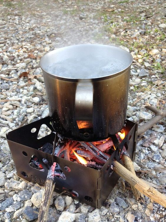 Mini-E Titanium Wood Burning Stove-0