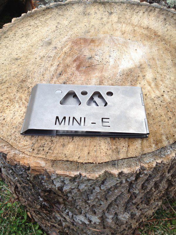 Mini-E Titanium Wood Burning Stove-3593