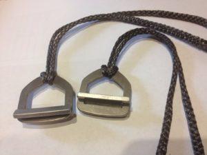 Titanium Cinch Buckle Complete Suspension-3554