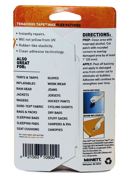Tenacious Tape Flex Patches-3894