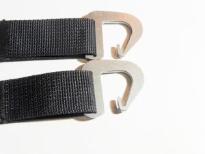 Sew-on Dutch Clips (Pair)-3558