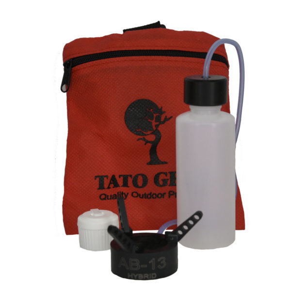 tato gear bag with products
