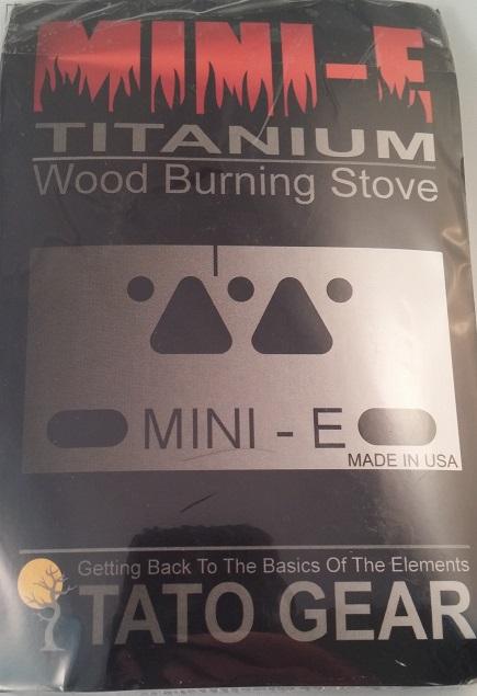 Mini-E Titanium Wood Burning Stove-3596