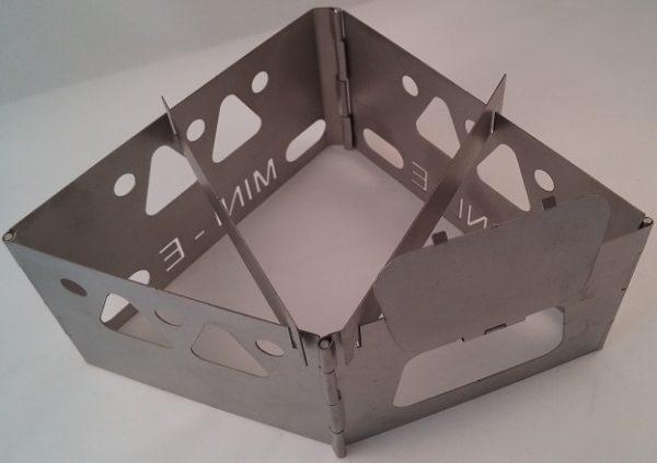 Mini-E Titanium Wood Burning Stove-3597
