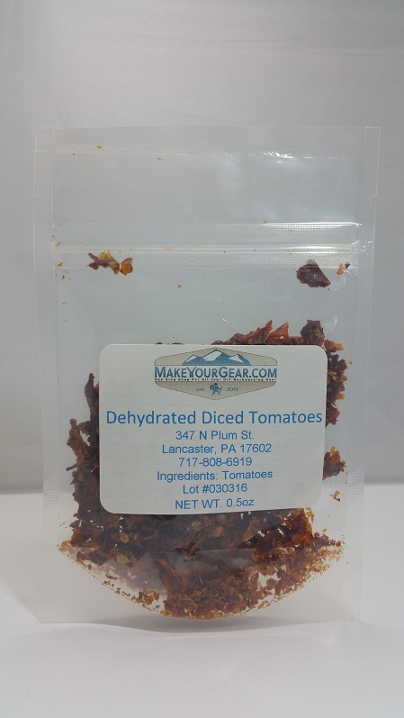 Dehydrated Diced Tomatoes-4102