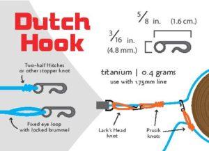 Titanium Dutch Hooks (Single)-4096