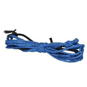 spliced blue wire