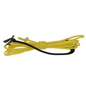 spliced yellow wire
