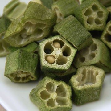 Freeze Dried Okra-0