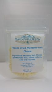 Freeze Dried Monterrey Jack Cheese-4155