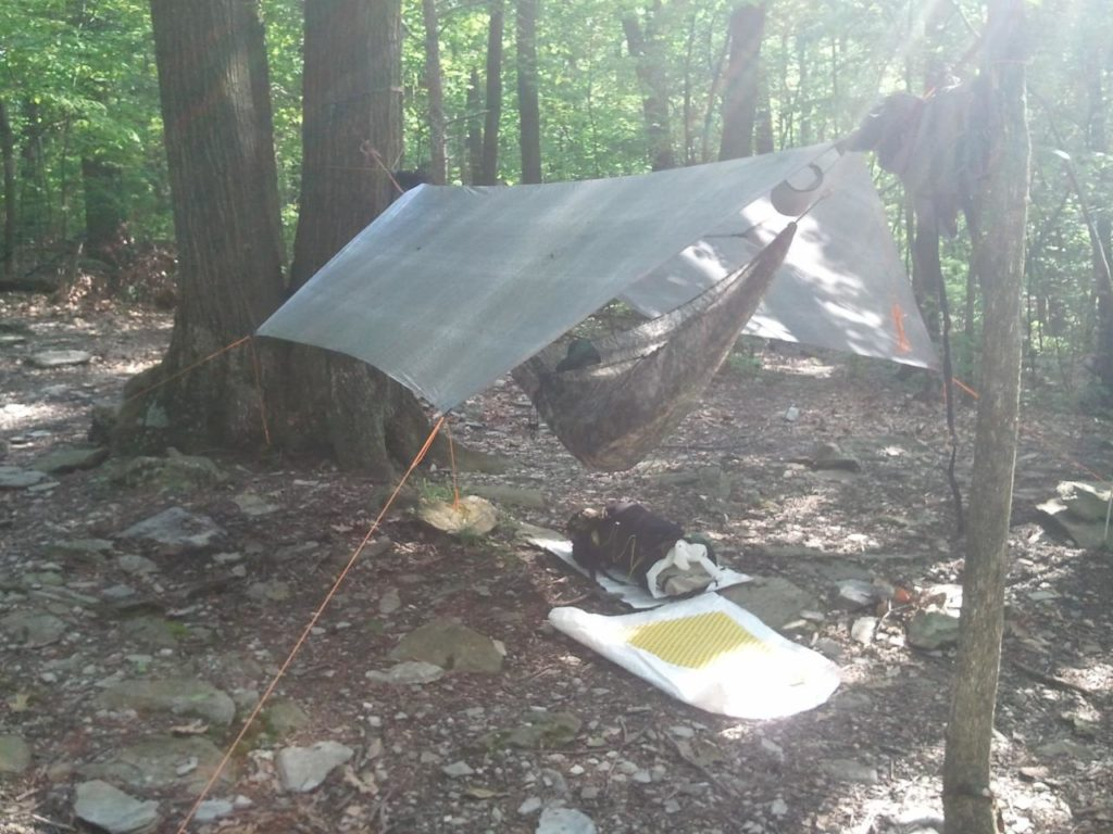 Medium image of cuben fiber tarp by hammock gear 0