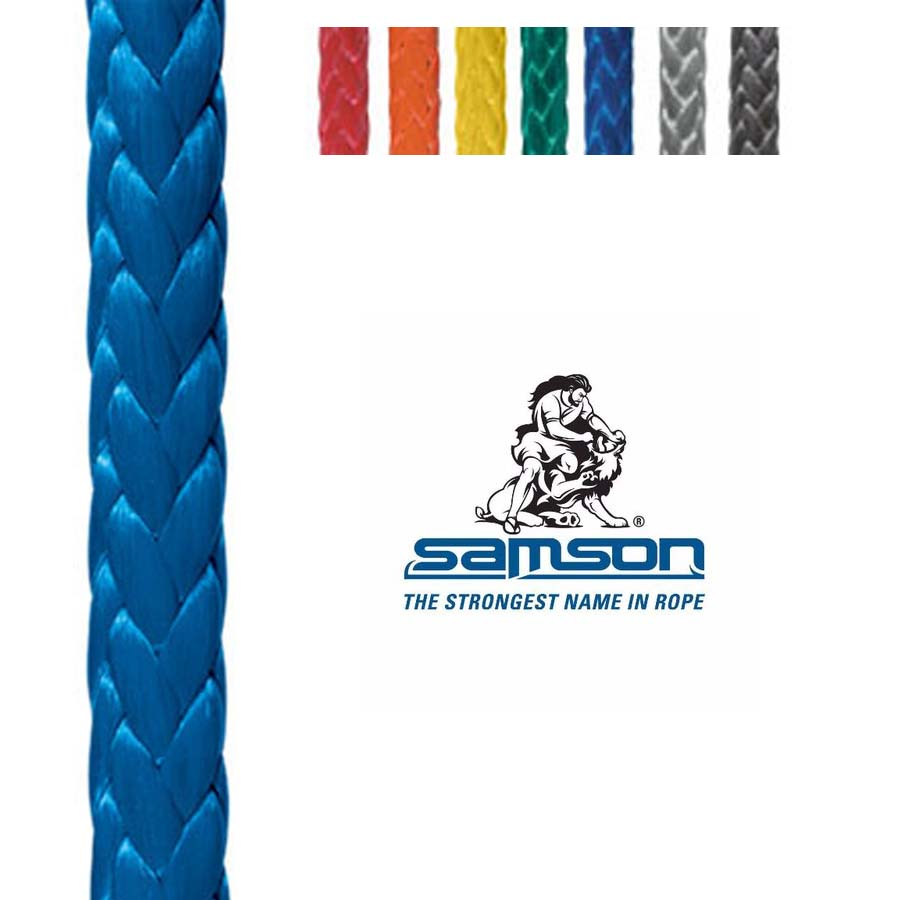Samson Amsteel Blue 5//16 Rope by The Foot