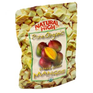Natural High Freeze Dried Organic Mangos-0