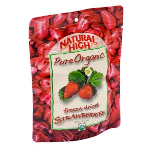 Natural High Freeze Dried Organic Strawberries-0