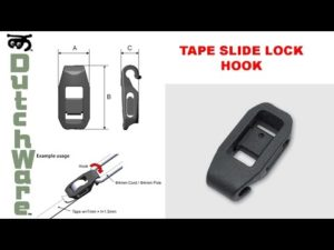 Tape Slide Lock Hook-4941