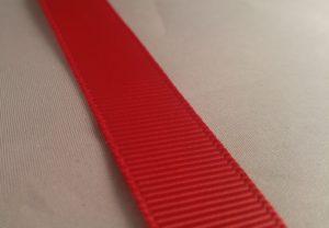 5/8 Grosgrain Red-0