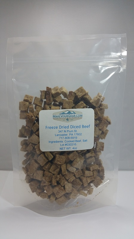 Freeze Dried Diced Beef-5098