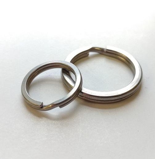 Titanium Split Rings-0