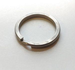 Titanium Split Ring - 1 Inch-0