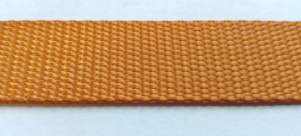 Polyester Webbing - Burnt Orange-0