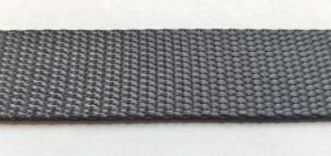 Polyester Webbing - Charcoal Grey-0