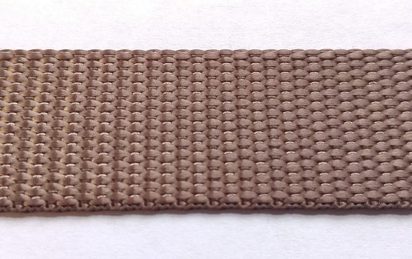 Polyester Webbing - Coyote Brown-0