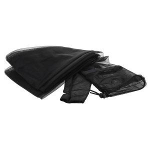 black tarp sleeve