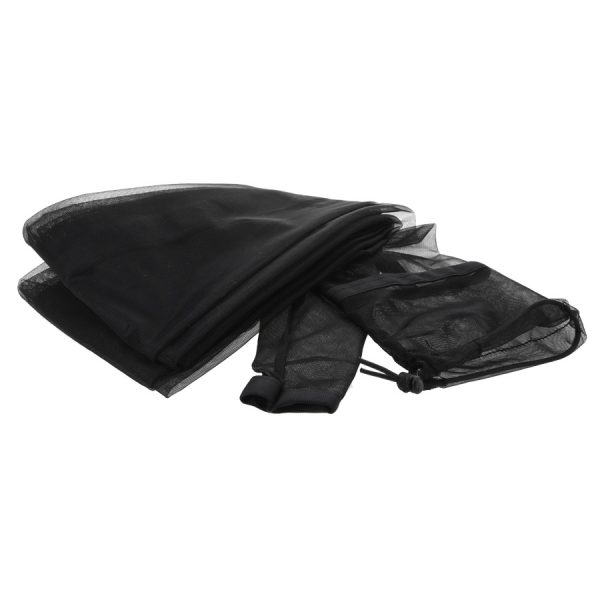 black tarp sleeve