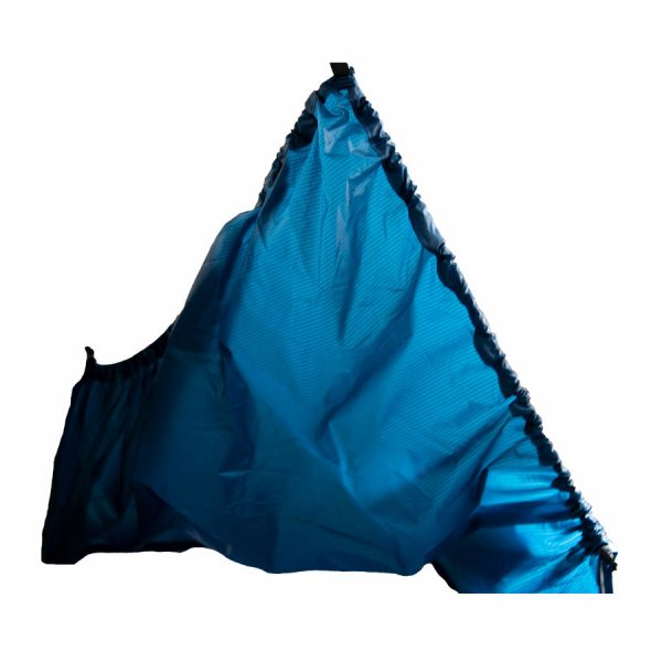 blue breathalizer fabric
