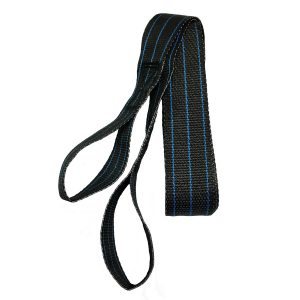 spider hook with blue stripe