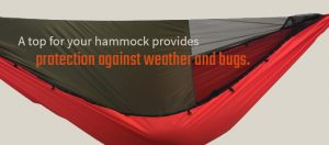 hammock cover with bugnet
