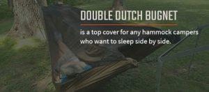 double dutch bugnet hammock