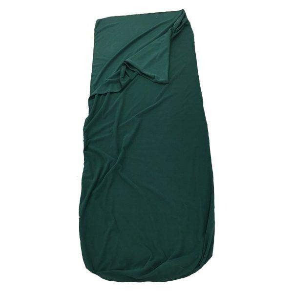 green fleece quilt