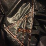 black hammock folded