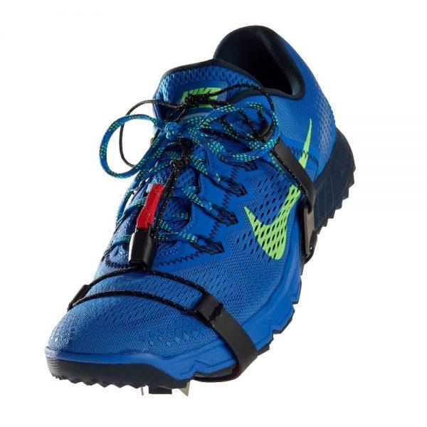 blue shoe cleats