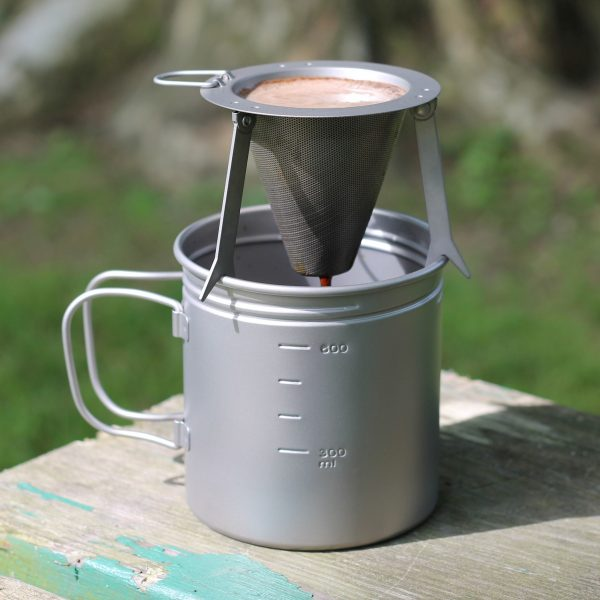 gray coffee filter