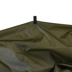 green garment bag