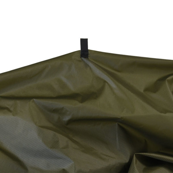 green garment bag