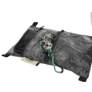 bag with phone and keys
