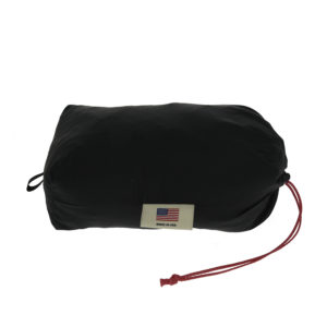 dog tent folded in bag