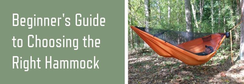 beginner's guide to choosing the right hammock