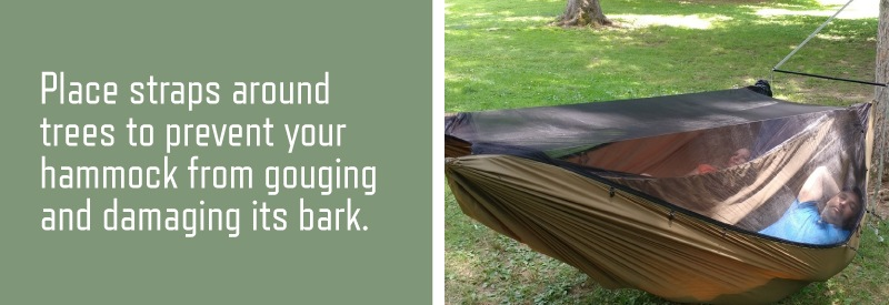 a tip for hammock camping beginners