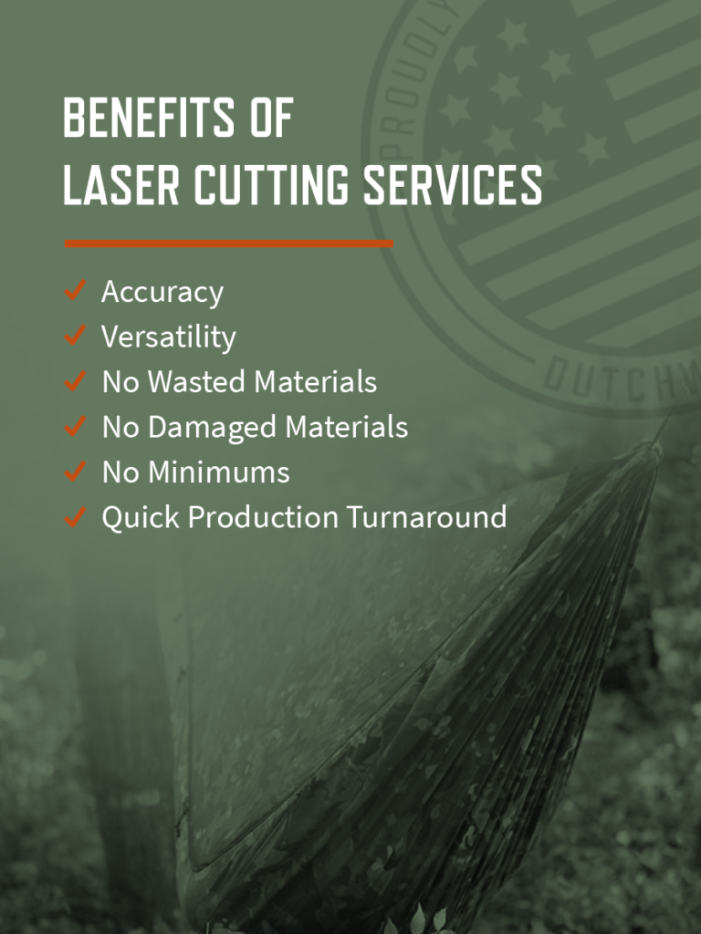 the benefits of our laser cutting services
