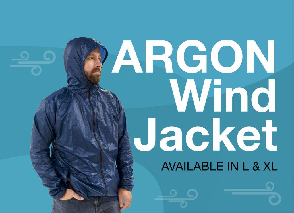 Web Banner - Wind Jacket - Still