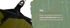 describes the purpose of a tarp