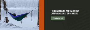 find winter hammock camping gear at dutchware