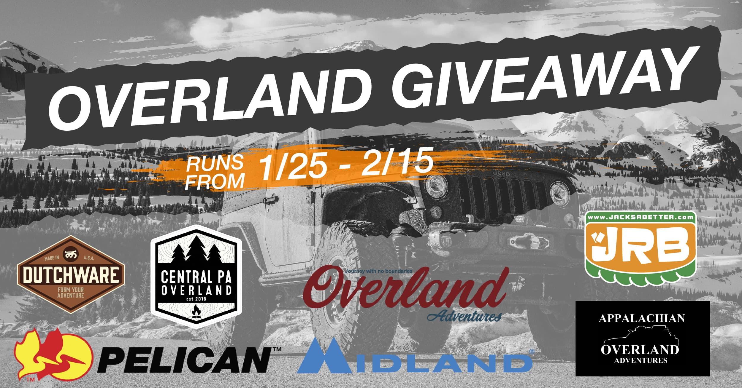 Facebook - Overland Giveaway Banner